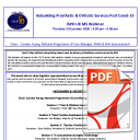 Rebuilding Prosthetic & Orthotic Services Post Covid-19 - Final Programme