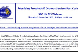 Rebuilding P & O Services Post Covid-19 - 3 December Webinar